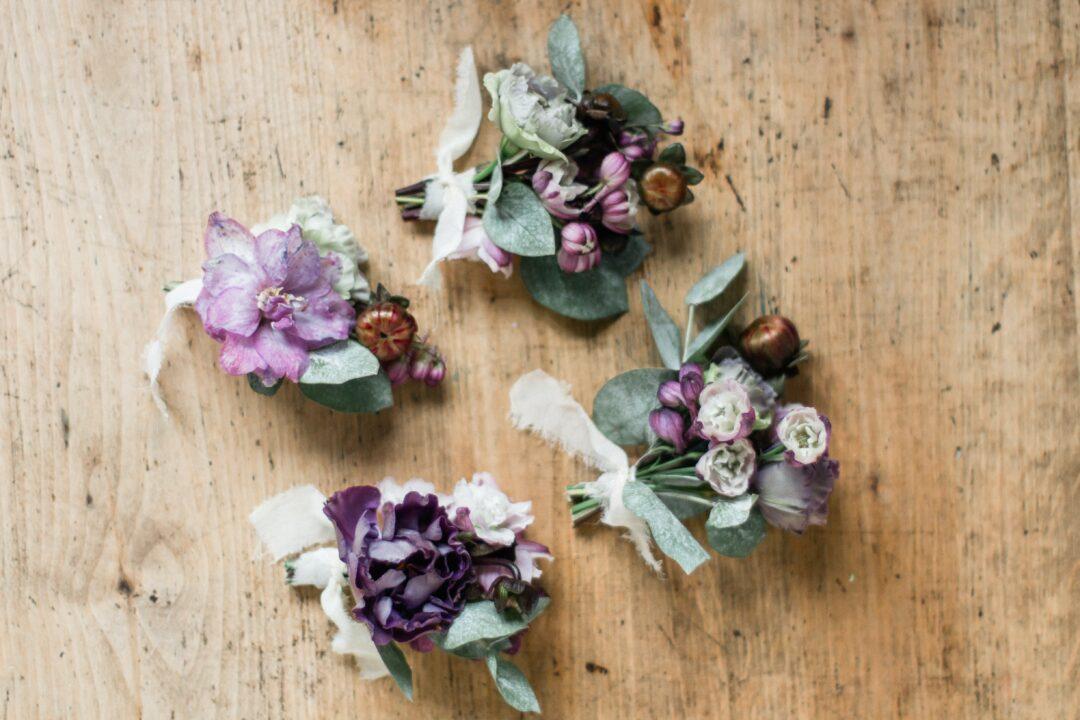 relewedding bottoniere matrimonio sostenibile